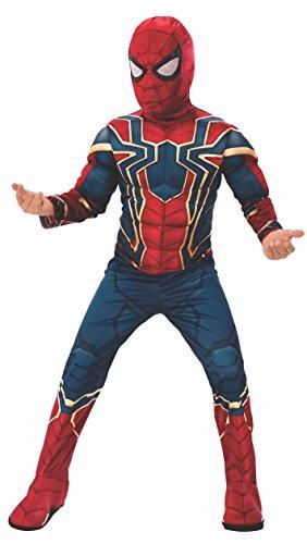 Avengers - Disfraz de Spiderman Iron Spider de Infinity Wars para niños, 3-4 años (Rubie