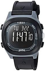 cheap Timex TW5M19000 Ironman Transit Men's Watch with Full Size Black / Negative Polymer Strap