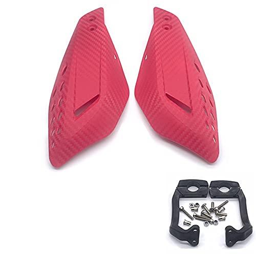 1pair Motorycle Mano Guardia Manija Protector Escudo Scooter Abarcadero Manillar Manual de Manillar Equipo de protección Protector Embrague Freno palancas (Color : 5)