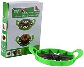 PoncherishAE Hot Summer Large Watermelon Melon Slicer Stainless Steel Fruit Cutter Home Kitchen Convenient Divider Tools K...