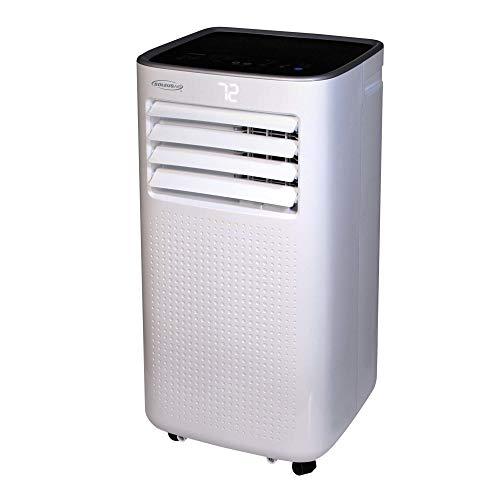 Soleus Air PSJ-06-01 10,000 BTU(ASHRAE)/6,000 BTU 3-in-1 Portable Air Conditioner, Dehumidifier, Fan with MyTemp Remote Control, 3 fan speeds, Turbo Cool, Auto Mode, Washable Filter, 250 SqFt Coverage