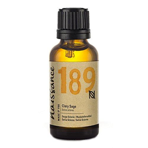 Naissance Olio di Salvia Sclarea - Olio Essenziale Puro al 100% - 30ml