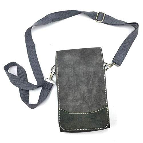 QLT BETY Barber Tool Bag Ciseaux Titulaire Titulaire pour Coiffeurs avec Doublure Amovible 8 Ciseaux Bits Coiffure Ciseaux Titulaire