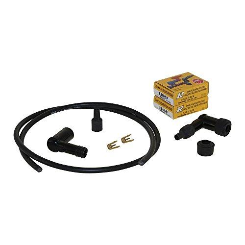 Zündverkabelung Set Stecker Kabel Spulenschuhe für BMW Boxer Motoren BMW R75/5 R90S R100R