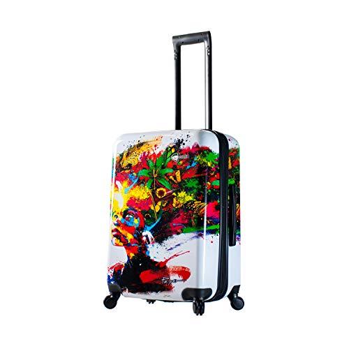 Mia Toro Prado-Beautiful Minds 24 Inch Spinner Luggage, Multicolor