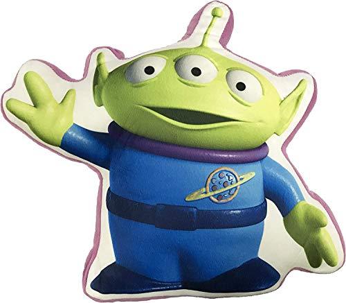 Toy Story 4 Character Soft Cushion Pillows Kids Buzz Woody & Alien Plush Stuffed Cushions (Alien)