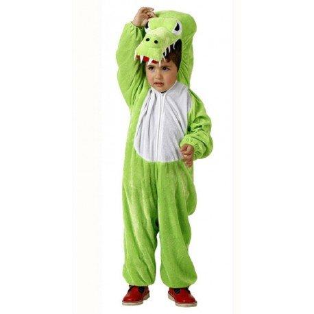 Disfraz de cocodrilo para niño o niña - 5-7 años