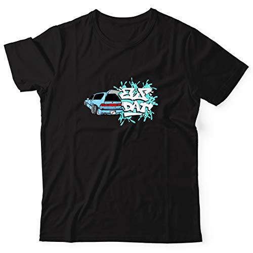 MOBIFLARE Graphic Tees EF That Civic - 100% Ring-Spun Cotton T-Shirt (Xtra Large) Black