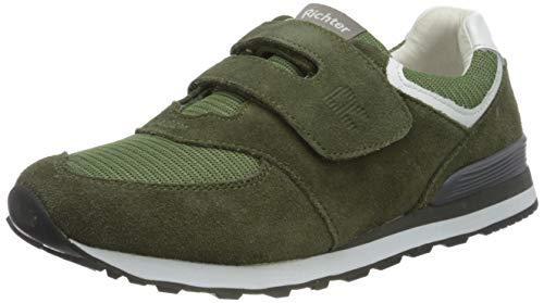 Richter Kinderschuhe Jungen Junior Sneaker, Grün (Scandinavian/White 8101), 32 EU