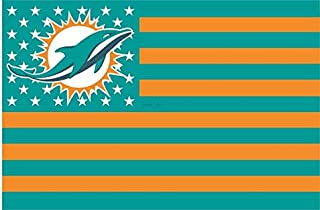 miami dolphins stars and stripes flag