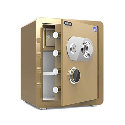 ZHAS Safe Safe Mechanical Password Seguridad para el hogar Safe In The Wall Into The Cabinet Invisible Safe Cabinet Safes (Color: Style2, Tamaño: 45cm)