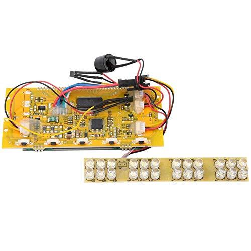 PBOHUZ Instrumento de Pantalla de Scooter: Instrumento de Pantalla de Cristal líquido de Panel LCD de 36 V de Repuesto de 8 Pulgadas para Scooter eléctrico