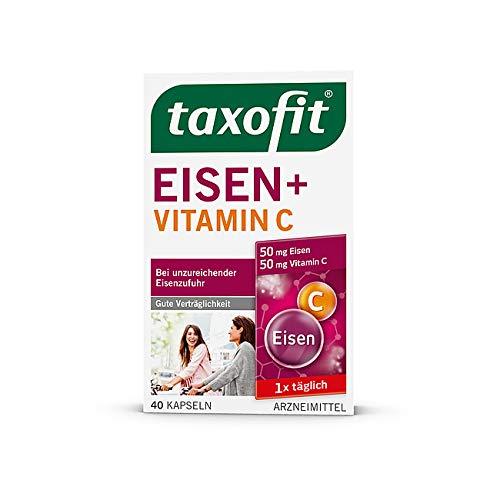2x taxofit Eisen+Vitamin C Kap 40 St