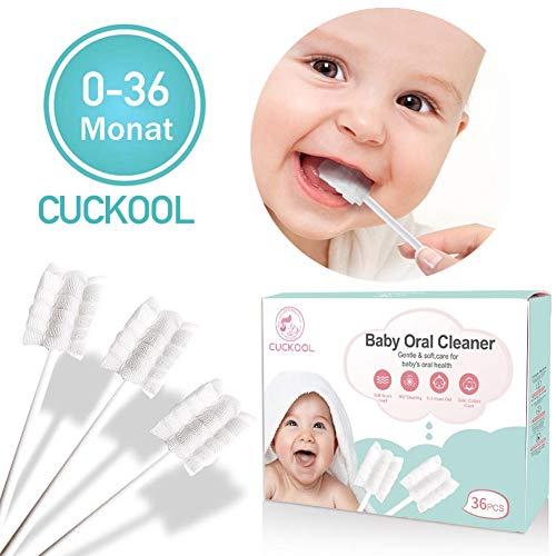 Baby Zahnbürsten, Zahnbürste Kinder, White Weich Medizinische Gaze Zähneputzen für Kleinkinder, Mundpflege Zähneputzen Massage für Mundhöhle