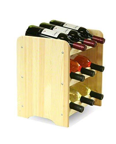 Flaschenregal Weinschrank Weinständer Weinregal für 9 Flaschen NEU!