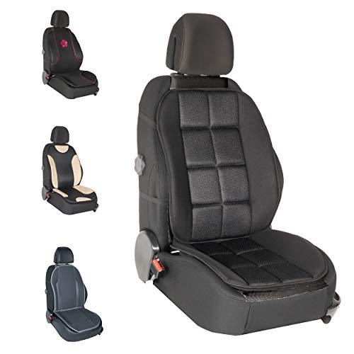 DBS - Couvre Siège - Voiture/Auto - Noir - Confort - Antidérapant - Compatible Airbag - Universel