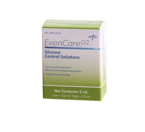 EvenCare G2 Glucose Meter Hi Easy-to-use EVENCA Solution CONTROL Lo Control Max 66% OFF