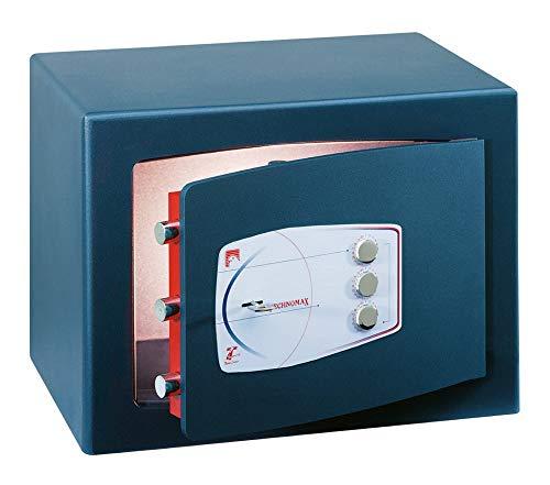 Cassaforte A Mobile A Chiave + Combinazione Serie Gold Technomax - 220X350X300Mm