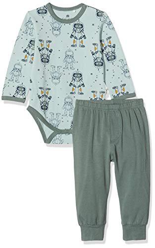 CeLaVi Pyjamas Set in Weicher Qualität Ensemble, Vert (Balsam Green 975), 86/92 (Taille Fabricant: 90) Bébé garçon