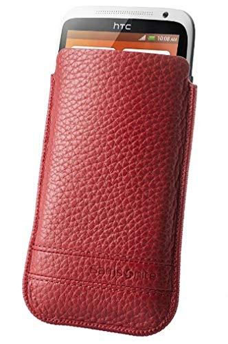 Samsonite Slim Classic Leather - fundas para teléfonos móviles (8,5 cm, 1,1 cm, 15 cm) Rojo