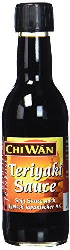 Chi Wán Teriyaki Sauce, Sojasauce nach typisch japanischer Art Flasche (1 x 250 ml)