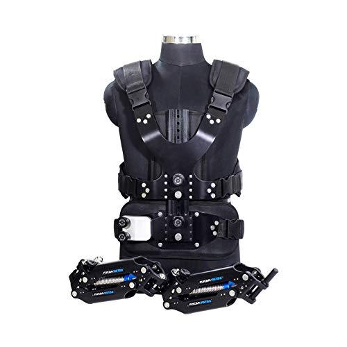 FLYCAM Vista-II Stabilizing Arm & Vest for Handheld Camera Video Steadycam Stabilizer Upto 15kg/33lbs | Professional Stabilization Body Mount System for DSLR Camera Stabilization (VSTA-II-AV)