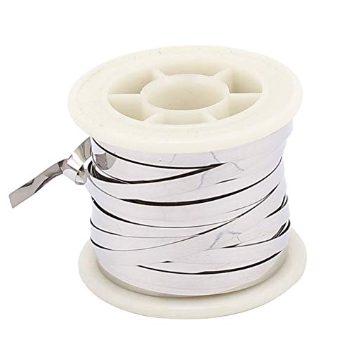 Tool Parts 10M 32.8Ft 0.2x5mm Nichrome Flat Heater Wire for Heating Elements