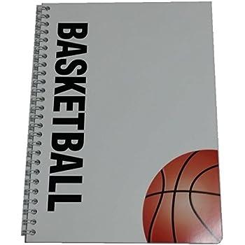 バスケットボールノート Wリングタイプ B5サイズ
