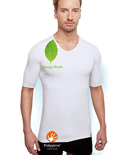 Schaufenberger ANTIBAKTERIELLES Unterhemd - geruchsneutral, Größe S