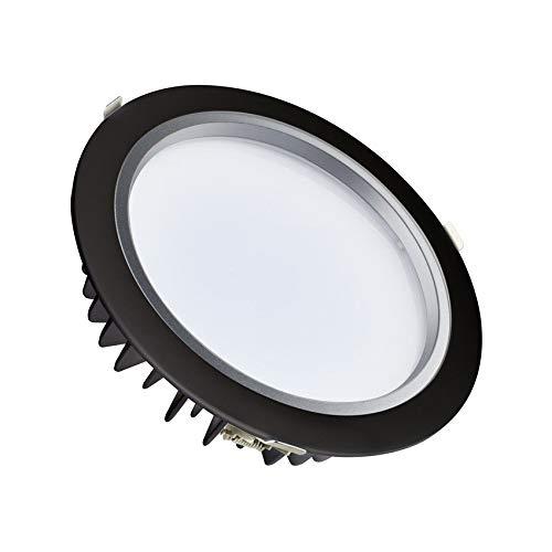 LEDKIA LIGHTING Downlight LED 120lm/W Negro 40W LIFUD Corte Ø 220 mm Blanco Frío 5500K No Regulable