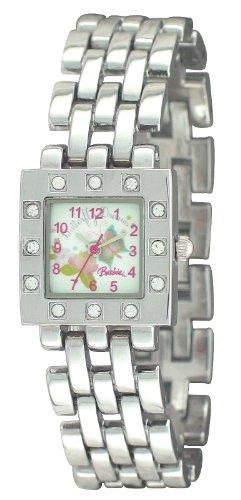 Barbie Mädchen-Armbanduhr Analog Quarz Plastik BW006A