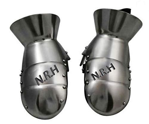 Nautical Replica Hub Medieval Armor Steel Mitten Gauntlets One Size 18G Steel