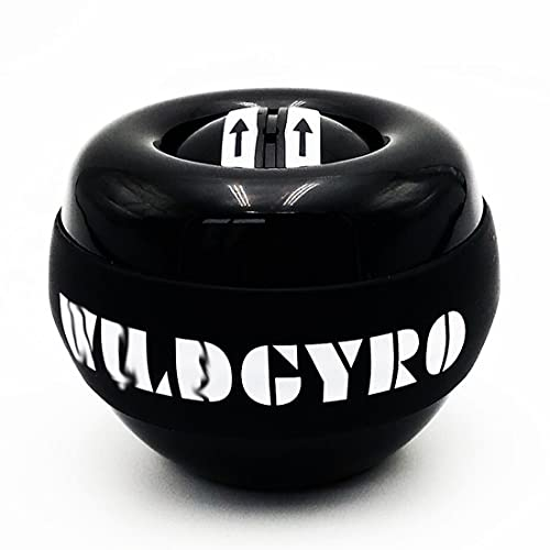 SHENAISHIREN DIRIGIÓ Girroscópico Powerball AutoStart Range Gyro Power Muñeca Bola de muñeca con Arma de Contador Mano Muscle Force Trainer Equipo de Fitness (Color : A)