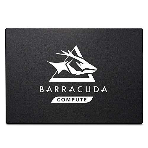 Seagate BarraCuda Q1 SS, interne SSD 480 GB, 2.5 Zoll, SATA 6 Gb/s, 3D-QLC-NAND, Bulk, Modellnr.: ZA480CV1A001, (Verpackung kann variieren)