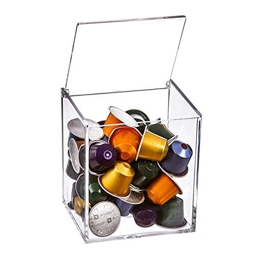 Caja Porta Capsulas Nespresso Metacrilato 13 cm