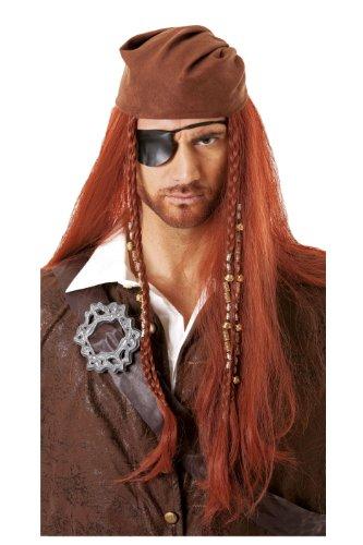 Cesar - C288-001 - Perruque Pirate avec Bandana