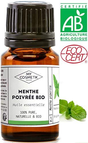 Aceite esencial menta piperita orgánico - MyCosmetik
