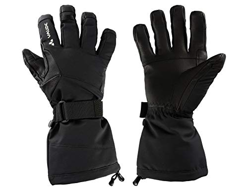 VAUDE Back Bowl Gloves II Gants Mixte, Noir, 7