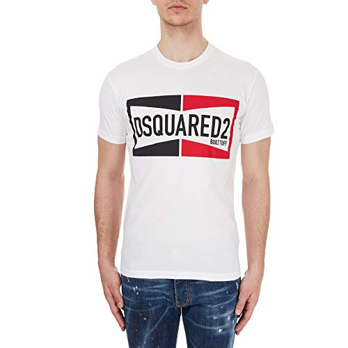 DSQUARED2 Cool Fit Dyed T-Shirt White MD