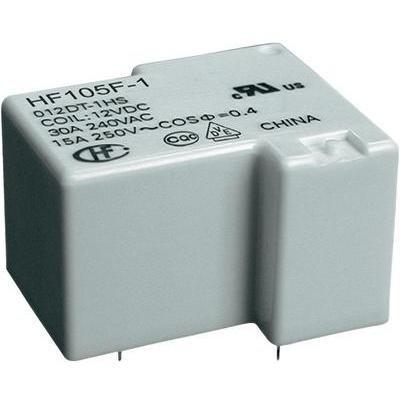 Hongfa HF105F-1/012DT-1ZST (136) Printrelais 12 V/DC 20 A 1 Wechsler 1 St.