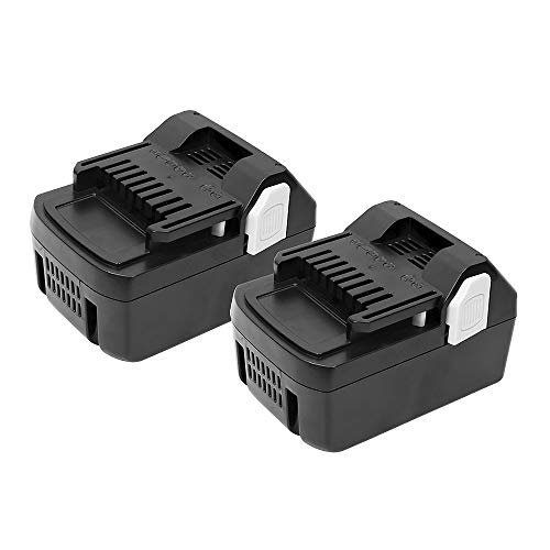 2Pack 18V 4.0Ah Replacement Lithium-ion Battery for Hitachi BSL1830 BSL1815X EB1814SL DS18DSAL 33055 330067 330068 330139 330557 18-Volt Battery for Hitachi
