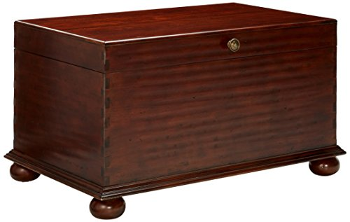 Hooker Furniture Lift Lid Cocktail Trunk, Medium Cherry