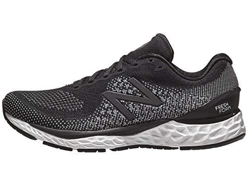 New Balance Fresh Foam 880v10 Men's Running Shoes (Black/White, Numeric_9_Point_5)