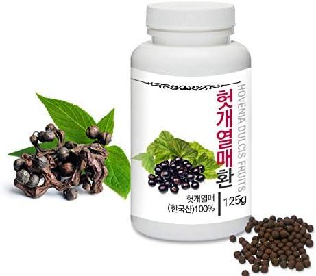 Medicinal Korean Herbal Pills Prince Natural Hovenia dulcis Fruits Pills Hovenia dulcis Fruits product image