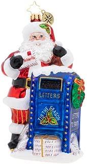The Official Christopher Radko Company Dear Santa Christmas Ornament, Multicolor