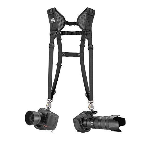 BLACKRAPID Double Breathe Slim Camera Harness, Trusted Strap Design
