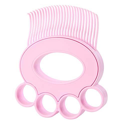ペット ブラシ 毛取り マッサージ 犬 猫用 くし 小型 毛取りクリーナー 毛玉取り 長毛 短毛 毛繕い ブラッシング 櫛 ペット用品 柔らかい 肌に優しい ピンク