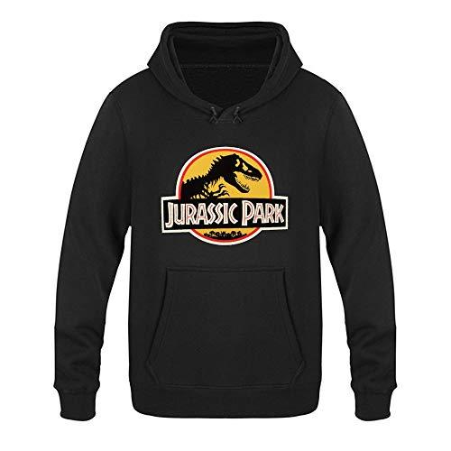 Hunting a Seagull J-urassic Park Logo - Sudadera con capucha para adulto, manga larga, con bolsillos, unisex