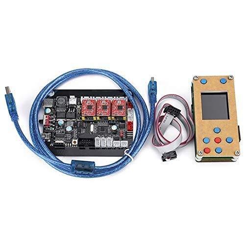 Tokyia Placa del Controlador Grbl Desconectado 3Axis Motor de Pasos de Doble Eje Y Junta Controlador USB for Grbl for tallar la máquina de Grabado