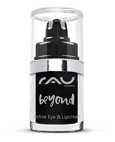 Naturkosmetik Lippen-Pflege / Augen-Creme für Trockene Haut - RAU beyond Active Eye & Lipcream 15 ml